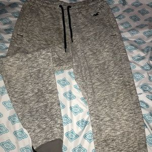 hollister gray joggers